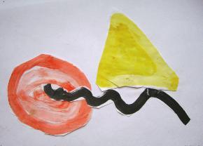 kunst erste klasse idee